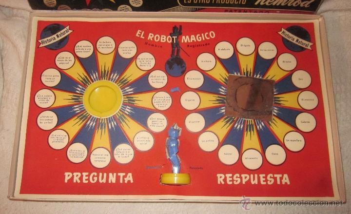 Juguetes antiguos: EL ROBOT MÁGICO,NEMROD,CAJA ORIGINAL,AÑOS 50 - Foto 3 - 40791062