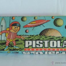 Juguetes antiguos: PISTOLA ESPACIAL CON CAJA. INDUSTRIAS SHAMBER'S S. A.. Lote 40953620