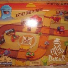 Juguetes antiguos: PISTA DAKAR DE FALCA,LISBOA-DAKAR 1979-2007,CAJA ORIGINAL,SPAIN,A ESTRENAR. Lote 41098220