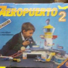 Juguetes antiguos: AEROPUERTO 2 ELECTRICO. RIMA. CON CAJA. VER FOTOS. LEER. Lote 41681913