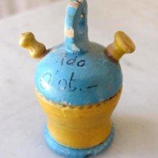 Juguetes antiguos: BOTIJO, EN MINIATURA, RECUERDO DE OLOT. Lote 41746655