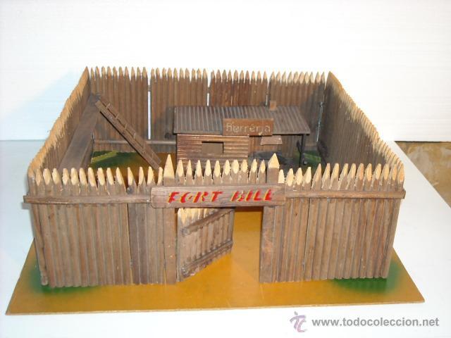 Fort bill antiguo fuerte de madera a os 50 i comprar - Pegamento fuerte para madera ...