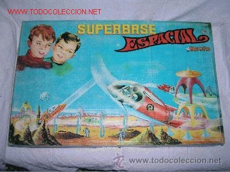 SUPER BASE -SUPERBASE ESPACIAL BREKAR 1960-SPACE-ESPACIO-NAVE-ROBOT (Juguetes - Marcas Clasicas - Otras Marcas)