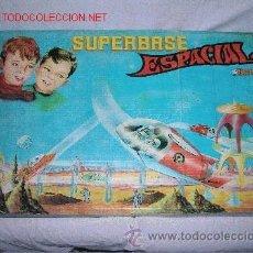 Juguetes antiguos: SUPER BASE -SUPERBASE ESPACIAL BREKAR 1960-SPACE-ESPACIO-NAVE-ROBOT. Lote 42271624
