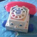Juguetes antiguos: ANTIGUO TELÉFONO DE FISHER PRICE.. Lote 42536228