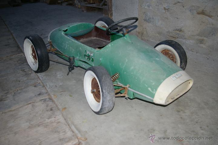 Coche A Pedales Jarama Anos 60 Buy Old Toys By Other Classic