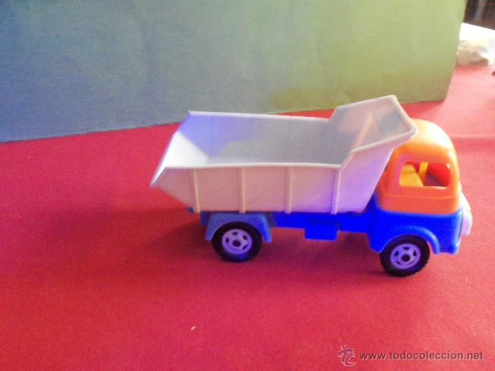 Juguetes antiguos: Geyper Camión Volquete a fricción Años 70. Juguete Español. - Foto 2 - 42954258