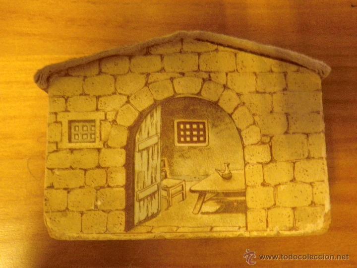 Juguetes antiguos: juego de construcción de corcho. - Foto 2 - 43069066