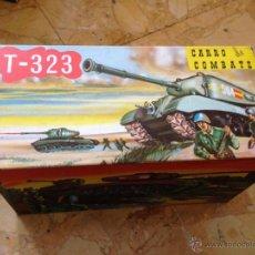 Juguetes antiguos: CARRO DE COMBATE T-323 MARCA COMANDO. Lote 43073988