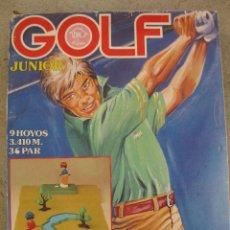 Juguetes antiguos: GOLF JUNIOR - RIMA - NUEVO - PRECINTADO.. Lote 43664629