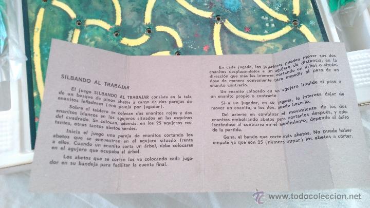 Juguetes antiguos: ANTIGUO JUEGO AÑOS 70 EDUCATIVO DALMAU CARLES PLA INICIATIVA Y DECISION REF 359 SILBANDO A TRABAJAR - Foto 2 - 44812057