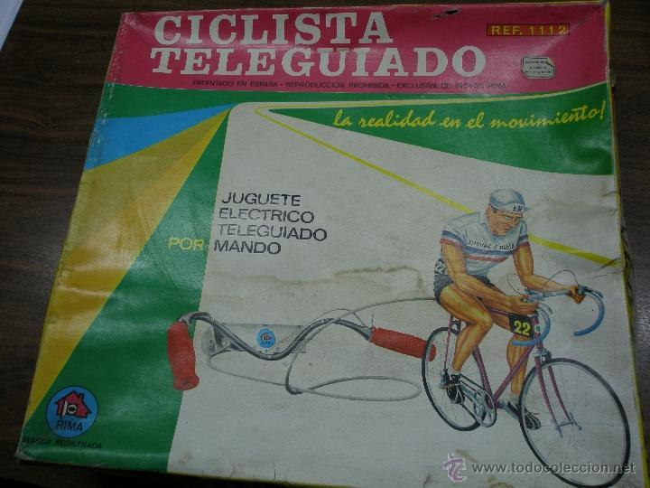 CICLISTA TELEDIRIGIDO RIMA (Juguetes - Marcas Clasicas - Otras Marcas)