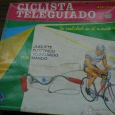 Juguetes antiguos: CICLISTA TELEDIRIGIDO RIMA. Lote 45136816
