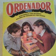 Juguetes antiguos: ANTIGUO JUEGO ELECTRONICO ORDENADOR DE AIRGAM REF: 604 CON CAJA. Lote 45227732