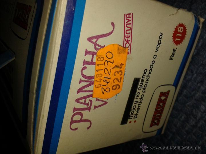 Juguetes antiguos: Plancha Vapor *EUREKA* Años 80 - Foto 4 - 45547248