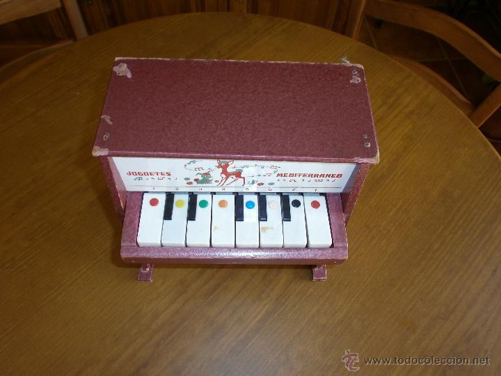 Juguetes antiguos: PIANO- JUGUETES MEDITERRANEO - VALENCIA AÑOS 60-70. - Foto 3 - 45987474