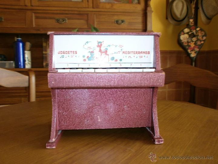 Juguetes antiguos: PIANO- JUGUETES MEDITERRANEO - VALENCIA AÑOS 60-70. - Foto 4 - 45987474