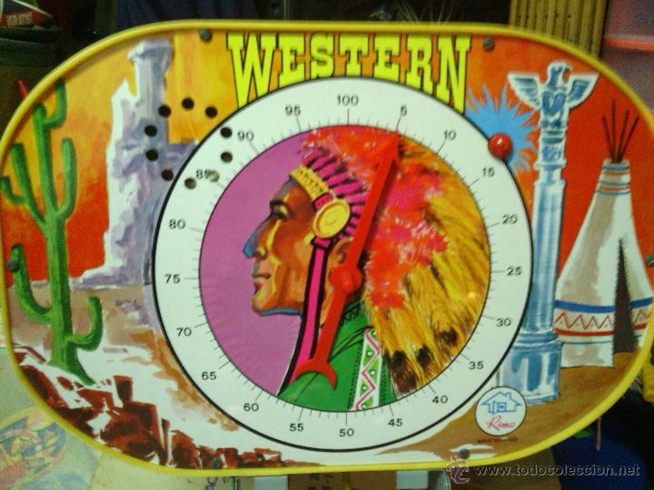 Juguetes antiguos: PINBALL WESTERN -JUGUETES RIMA- - Foto 2 - 46363271