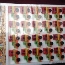 Juguetes antiguos: EXPOSITOR BLISTER COMPLETO DE SAFARI DE PLASTICO (LAND ROVER) DE JISA. Lote 46374360