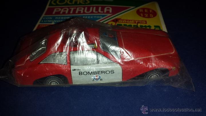 COCHE BOMBEROS DE CORAMA MADE IN SPAIN (Juguetes - Marcas Clasicas - Otras Marcas)