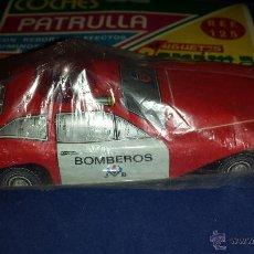 Juguetes antiguos: COCHE BOMBEROS DE CORAMA MADE IN SPAIN. Lote 46495399