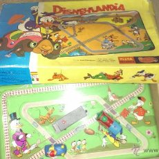 Juguetes antiguos: PISTA MECANICA DISNEYLANDIA DE GEYPER. Lote 46502911
