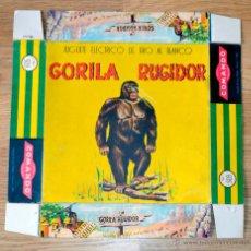 Juguetes antiguos: COMANDO. CAJA ORIGINAL. GORILA RUGIDOR Nº 503. Lote 65002242