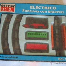Juguetes antiguos: GEYPER TREN, ELECTRICO, EN CAJA. CC. Lote 46535536
