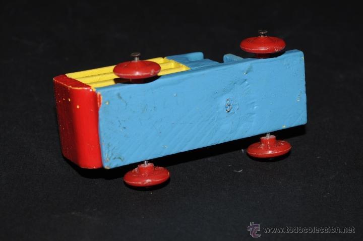 Juguetes antiguos: JUGUETE DE MADERA GOULA CAMION - Foto 4 - 46589713