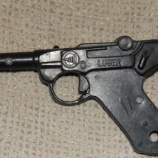 Juguetes antiguos: PISTOLA LUGER - TREBER -MADE IN SPAIN-JUGUETE. Lote 46631681