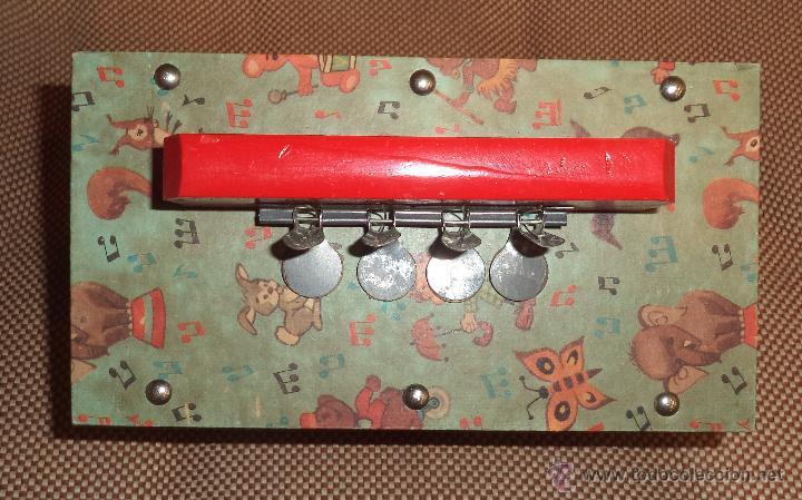 Juguetes antiguos: Acordeón de juguete,en caja,Precioso,Juguetes Mediterráneo,la caja es espectacular,años 50 - Foto 6 - 46644184