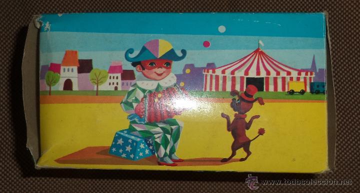 Juguetes antiguos: Acordeón de juguete,en caja,Precioso,Juguetes Mediterráneo,la caja es espectacular,años 50 - Foto 8 - 46644184