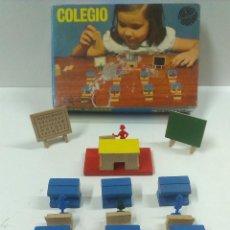 Juguetes antiguos: COLEGIO REF 600. JUEGOS EDUCATIVOS GOULA .MADE IN SPAIN. CONSTRUCCION URBIS.. Lote 70520898