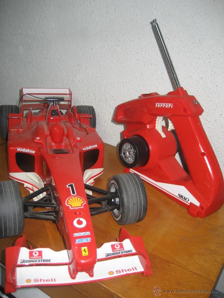 1 Nikkocomprar Antiguos 0wpokn Juguetes Formula Ferrari Control Radio BdxCero