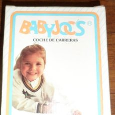 Juguetes antiguos: ANTIGUO COCHE CARRERAS BABYJOCS MADE IN SPAIN . Lote 47459723