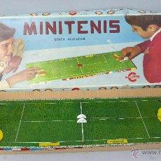Juguetes antiguos: MINI TENIS CONGOST PISTA METÁLICA AÑOS 70 JUEGO DE MESA. Lote 47800609