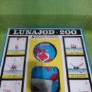 Juguetes antiguos: LUNAJOD 200 DE CONGOST - RARO Y ESCASO JUEGO DE LOS AÑOS 70 - UNA NAVE RECOGE MUESTRAS LUNARES. Lote 47807834