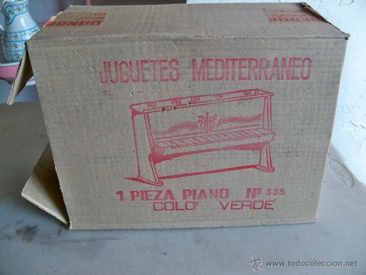 Juguetes antiguos: ANTIGUO PIANO DE JUGUETES MEDITERRANEO,MADE IN SPAIN, DE LOS AÑOS 70 - Foto 4 - 47895286