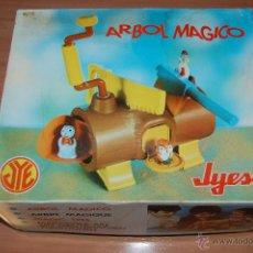 Brinquedos antigos: ANTIGUO JUGUETE ARBOL MAGICO JYESA. NUEVO A ESTRENAR.. Lote 48102557