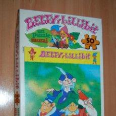Brinquedos antigos: ANTIGUO PUZZLE BELFY Y LILLIBIT 50 PIEZAS DIDACTA. NUEVO A ESTRENAR. Lote 48102871