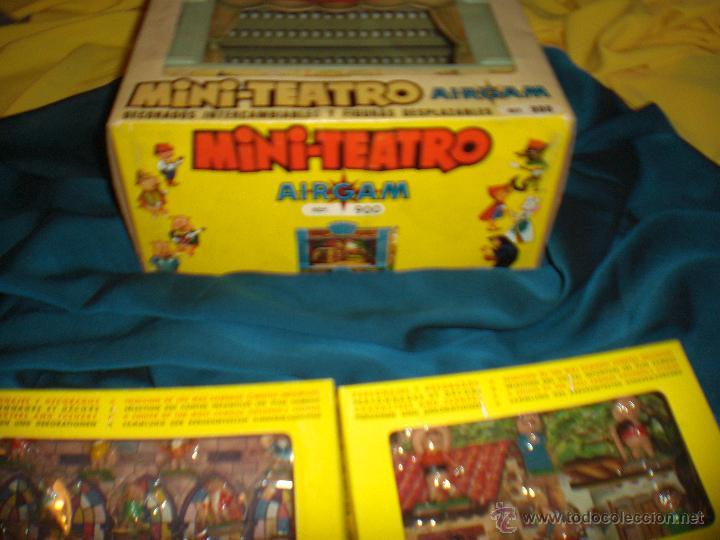 Juguetes antiguos: AIRGAM, MINI TEATRO AIRGAM COMPLETO CON SUS CUENTOS, JUGUETE ANTIGUO, TEATRO INFANTIL - Foto 2 - 48125570