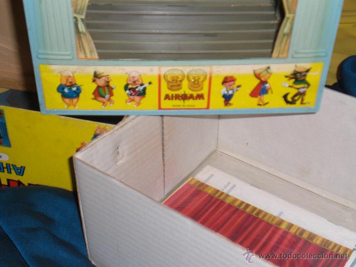Juguetes antiguos: AIRGAM, MINI TEATRO AIRGAM COMPLETO CON SUS CUENTOS, JUGUETE ANTIGUO, TEATRO INFANTIL - Foto 9 - 48125570