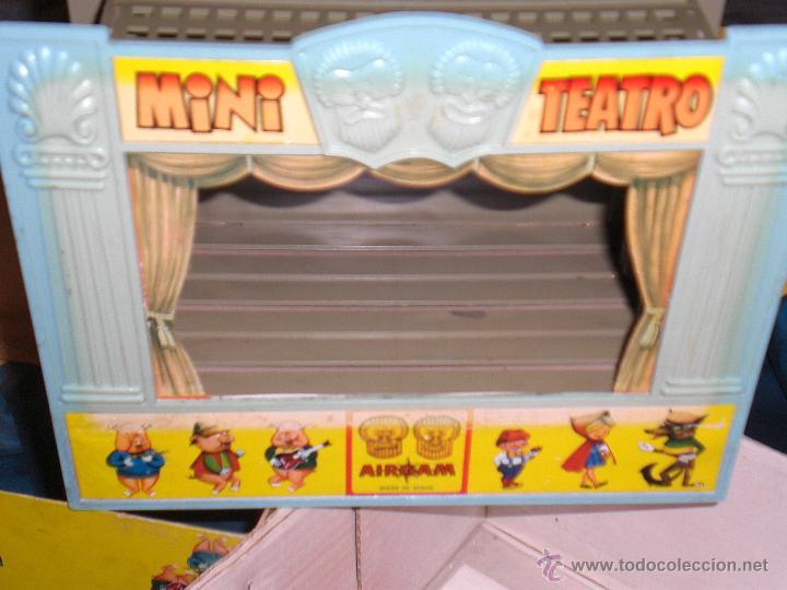 Juguetes antiguos: AIRGAM, MINI TEATRO AIRGAM COMPLETO CON SUS CUENTOS, JUGUETE ANTIGUO, TEATRO INFANTIL - Foto 10 - 48125570
