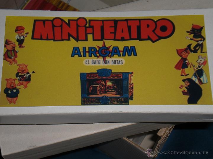 Juguetes antiguos: AIRGAM, MINI TEATRO AIRGAM COMPLETO CON SUS CUENTOS, JUGUETE ANTIGUO, TEATRO INFANTIL - Foto 16 - 48125570