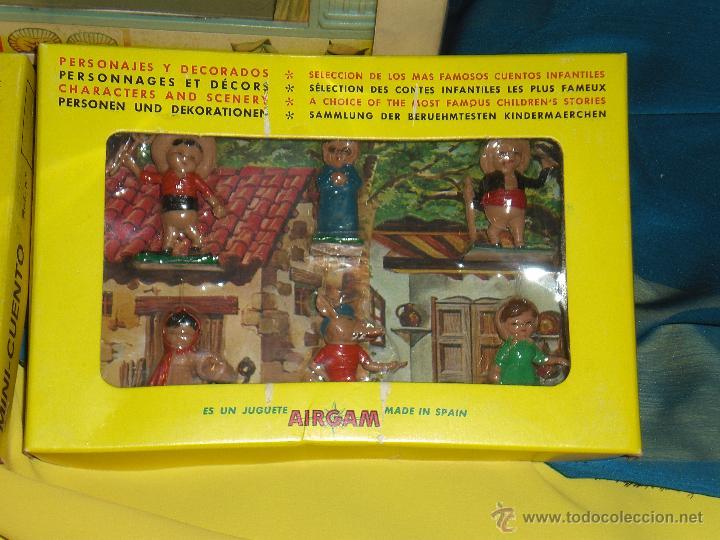 Juguetes antiguos: AIRGAM, MINI TEATRO AIRGAM COMPLETO CON SUS CUENTOS, JUGUETE ANTIGUO, TEATRO INFANTIL - Foto 21 - 48125570