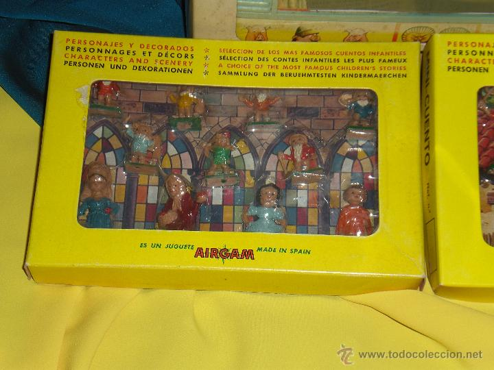 Juguetes antiguos: AIRGAM, MINI TEATRO AIRGAM COMPLETO CON SUS CUENTOS, JUGUETE ANTIGUO, TEATRO INFANTIL - Foto 23 - 48125570
