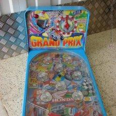 Juguetes antiguos: PINBALL DE JUGUETE. GRAN PRIX. MARCA RIMA. Lote 48601095