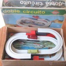 Juguetes antiguos - JUGUETE CONGOST DOBLE CIRCUITO - 48614547
