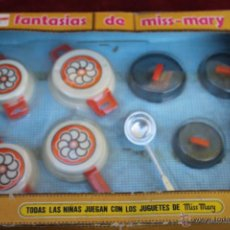 Juguetes antiguos: MALETIN DE COCINA BERDU´S JUGUETES MISS MARY AÑOS 70 ALICANTE. Lote 48655281