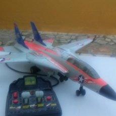 Juguetes antiguos: AVION CABLEDIRIGIDO F14 TOMCAT DE NEW BRIGHT AÑOS 90. Lote 163937216